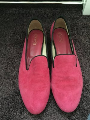 Tods slipper in pink