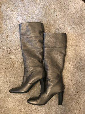 Tods Stiefel Gr 37 metallic