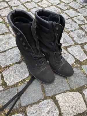 Tod's Patucos con cordones negro
