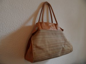 Tod's Bowling Bag sand brown leather
