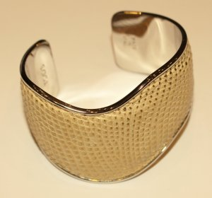 Tod's Armlet beige-gold-colored leather