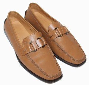 Tod's Zapatos formales sin cordones marrón claro Cuero