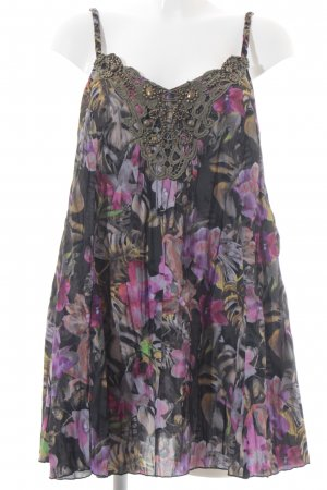 Together A-Linien Top florales Muster Boho-Look