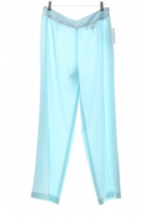 Together Bundfaltenhose babyblau Business-Look