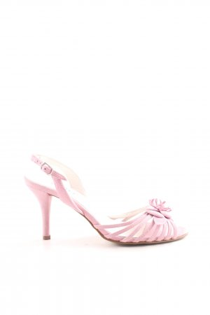 Together Riemchenpumps pink Casual-Look