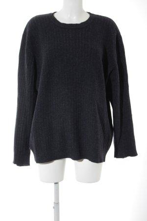 Togo Wollpullover dunkelblau-grau Casual-Look