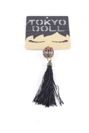 Tokyo Doll Anhänger schwarz Street-Fashion-Look
