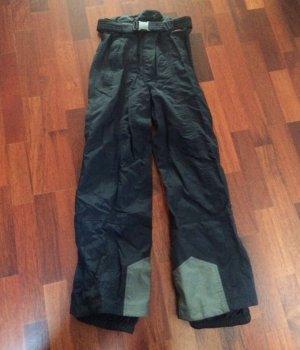 Maier Sports Pantalone da neve nero-grigio