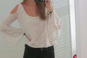 Abercrombie & Fitch Kanten blouse room-wit