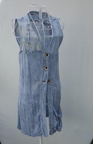 """tolle ärmellose Bluse... Weste von """"Elisa Cavaletti"""" in Vintage Optik Gr. S /36 -neuwertig-"""