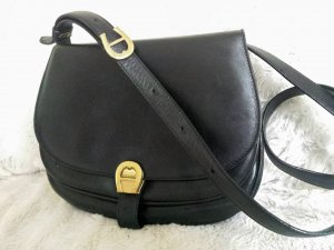 Aigner Shoulder Bag black synthetic material