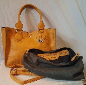 Tolle Bag in Bag Tasche in Senfgelb von Bulaggi