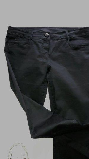 Vijfzaksbroek zwart Katoen