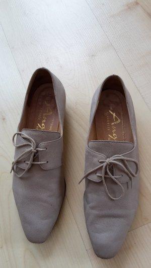 tolle beige Schuhe Sneaker Gr. 39