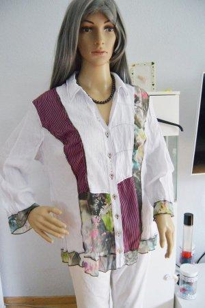 Tolle Biba bluse mit vielen Details gr.42