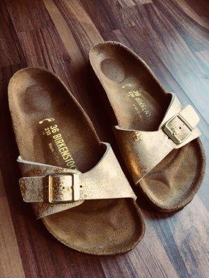 Birkenstock Sandalo comodo oro