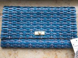 Tolle blaue Clutch H&M