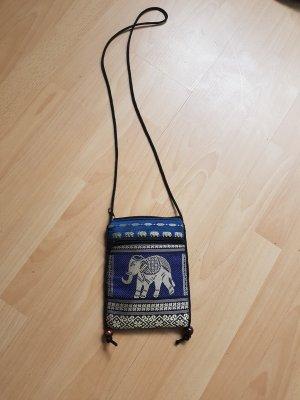 Tolle,blaue Handtasche