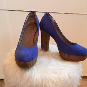 Tolle blaue High Heels
