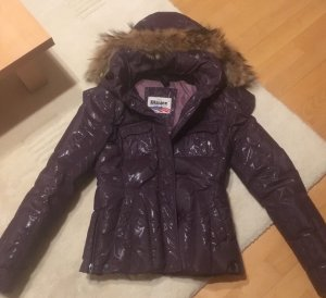 Blauer Down Jacket multicolored