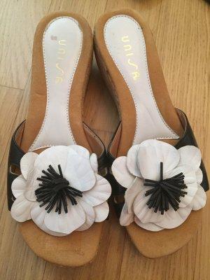 Unisa Flip-Flop Sandals white-black