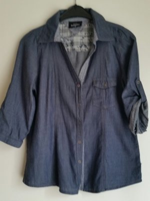 Tolle Bluse in Jeans Optik
