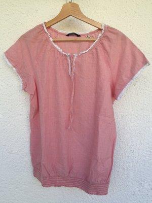 Tolle Bluse in rot/weiß gestreift Gr. 40