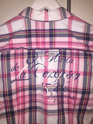 Arqueonautas Geruite blouse veelkleurig