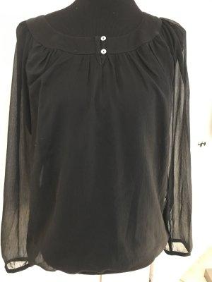 Tolle Bluse mit transparenten Ärmeln