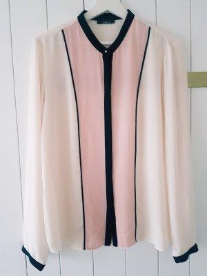 Tolle Bluse rosa creme