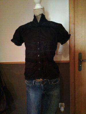 tolle Bluse Schwarz Gr. L Inscene Spitze