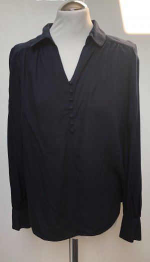 Tolle Bluse v. Vero Moda, Gr. M, dunkelblau, lockerer Schnitt, 1x getragen