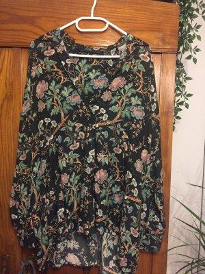 Zara Oversized blouse veelkleurig