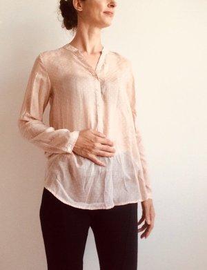 armedangels Long Sleeve Blouse pink-white