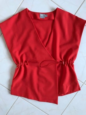 Asos Blouse portefeuille rouge