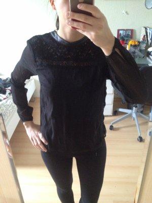 Tolle Bluse von Vero Moda Gr S Spitze