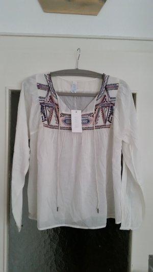 Tolle Boho-Bluse von By-Bar Amsterdam mit tollen Stickereien.