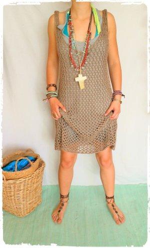 tolle Boho Hippe Coachella Häkel Kleid aus Ibiza