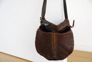 Tolle Boho Hippie Leder Tasche von Hugo Boss