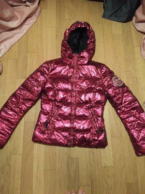 Tolle Bonbonfarbene Pinke Winterjacke von Kejo