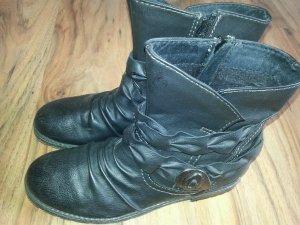 tolle Boots Stiefeletten Gr. 39 schwarz Clockhouse