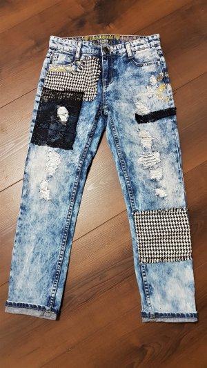 Desigual Jeans boyfriend multicolore