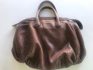 Tolle braune Liebeskind Tasche mit Bronzefarbenen Nieten