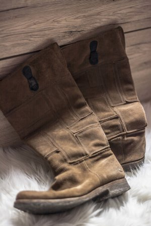 Tolle braune Timberland Stiefel in 39,5