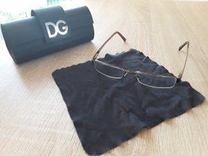 Dolce & Gabbana Glasses bronze-colored
