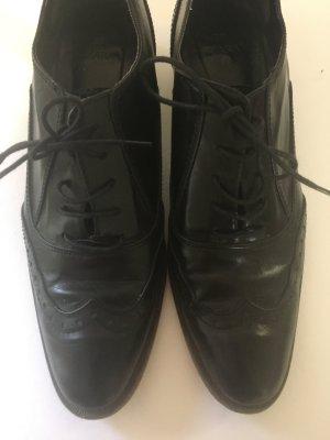 Tolle Budapester Schnürschuhe, ZARA, 39, schwarz