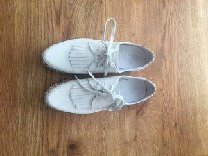 tolle Bugatti Damen Schuhe /außergewöhnliches Material / 1x getragen