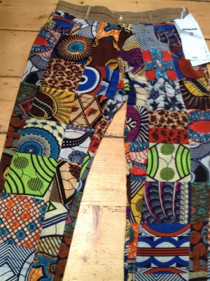 Monocrom 7/8 Length Trousers multicolored silk