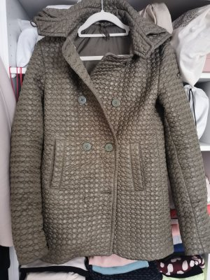Twin set Quilted Jacket green grey-khaki