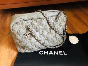 Chanel Bolso gris claro